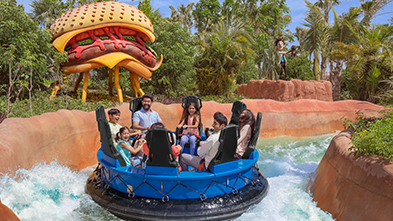 Theme Park Rides And Attractions At Motiongate Dubai