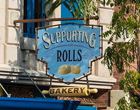 Supporting Rolls Bakery