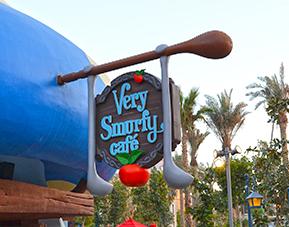 Very Smurfy Café
